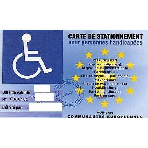 Tarjeta de discapacidad